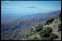Blick von 'Keys View' nach Süden (Mexiko)