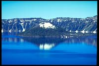 Wizard Island im Crater Lake