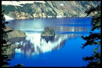 Phantom Ship im Crater Lake