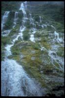 Wasserfall am Milford Track (3.Tag)