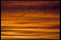 Sonnenuntergang bei Haast
