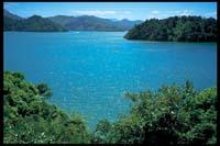 Blick auf den Mahau Sound