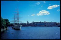 Seit 1949 eine Jugendherberge: Die 'Af Chapman' in Stockholm