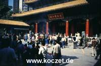 Tempelanlage 'Sik Sik Yuen Wong Tai Sin'