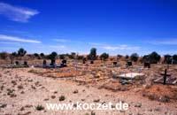 Friedhof in Coober Pedy