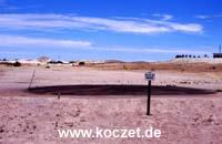 'Keep off the grass!' - Golfplatz