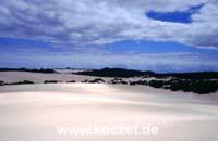 Dünenlandschaft Little Sahara
