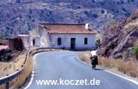 Straße nach Almogía